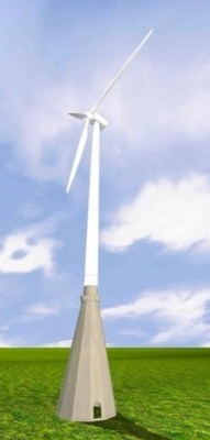 The design and construction of the Atlas CTB result in a hybrid wind tower with great performance, according to the manufacturer.
