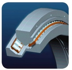 SKF's Nautilus bearing can do the work previously assigned to separate radial and thrust load bearings