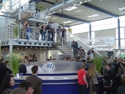 REpower to Unveil its 3.2 MW Wind Turbines at EWEA 2011