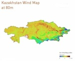 Kazakhstan - Projections show moderate penetration levels of wind energy up until 2030