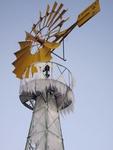 Molins de Vent TARRAGÓ: Mechanismus zur Vermeidung von Eis an Windpumpen
