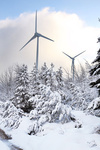 Japan - All wind turbines still standing after March 11th 2011 earthquake and tsunami
