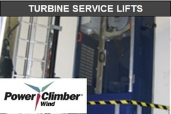 Power Climber Wind will provide and install the service lifts for wind plants