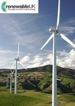 UK - Huge increase in electricity from wind energy
