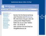 Die Windmesse Banner Werbung / Branchenverzeichnis